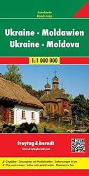 Ukraine and Moldova by Freytag-Berndt und Artaria