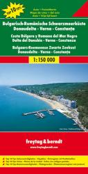 Varna, Bulgaria, Romania and the Black Sea Coast by Freytag-Berndt und Artaria