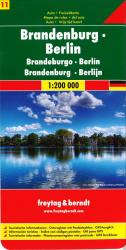 Germany, Brandenburg and Berlin by Freytag-Berndt und Artaria