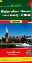 Germany, Lower Saxony and Bremen by Freytag-Berndt und Artaria