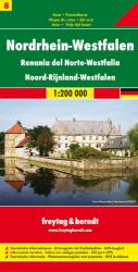 Germany, North Rhine-Westphalia by Freytag-Berndt und Artaria