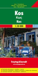 Kos, Greece by Freytag-Berndt und Artaria