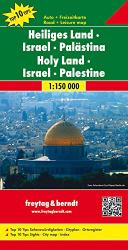 Holy Land, Israel and Palestine by Freytag, Berndt und Artaria