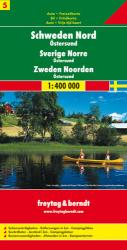 Sweden, North and Ostersund by Freytag, Berndt und Artaria