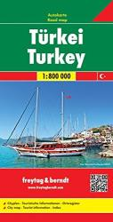 Turkey by Freytag, Berndt und Artaria