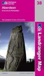 Aberdeen, United Kindom, Landranger Map 38 by Ordnance Survey
