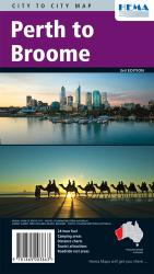 Perth to Broome, Australia by Hema Maps
