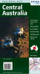 Australia, Central South Northern Territory and North South Australia by Hema Maps