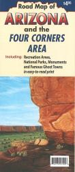 Arizona and the Four Corners area by North Star Mapping