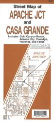 Street Map of Apache Junction and Casa Grande, Arizona by North Star Mapping