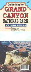 Guide Map to Grand Canyon National Park, Arizona by North Star Mapping