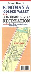 Street Map of Kingman and Golden Valley, Arizona by North Star Mapping