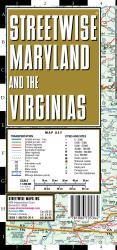 StreetWise Maryland and The Virginias by Streetwise Maps, Inc