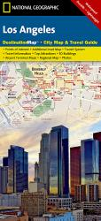 Los Angeles, California DestinationMap by National Geographic Maps