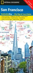 San Francisco, California DestinationMap by National Geographic Maps