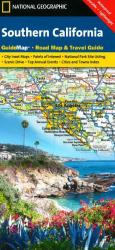 California, Southern GuideMap by National Geographic Maps