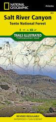 Salt River Canyon and Tonto National Forest, Map 853 by National Geographic Maps