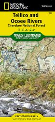 Tellico and Ocoee Rivers, Map 781 by National Geographic Maps