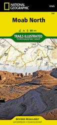 Moab, North, Map 500 by National Geographic Maps