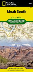 Moab, South, Map 501 by National Geographic Maps