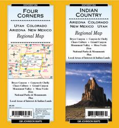 Indian Country-Arizona, Colorado, New Mexico and Utah by GM Johnson