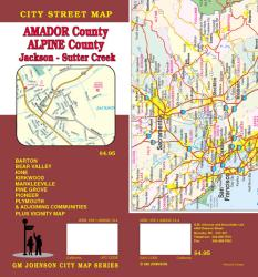 Amador and Apline County, California including Jackson and Sutter Creek by GM Johnson