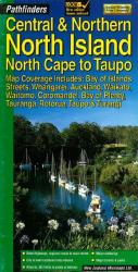 North Island, Central and Northern, North Cape to Taupo (Pathfinders) by Kiwi Maps