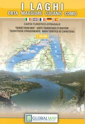 The Italian Lakes by Litografia Artistica Cartografica