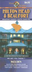 Hilton Head and Beaufort County, South Carolina by Map Supply, Inc.