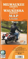 Milwaukee County and Waukesha County, Wisconsin, Map & Guide by Milwaukee Map Service