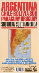 South America, Southern by Zagier y Urruty