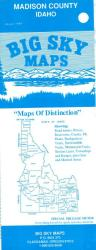 Madison County, Idaho by Big Sky Maps
