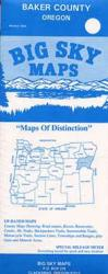 Baker County, Oregon by Big Sky Maps