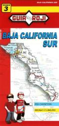 Baja California Sur, Mexico, State Map by Guia Roji