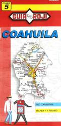 Coahuila, Mexico, State Map by Guia Roji