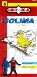 Colima, Mexico, State Map by Guia Roji