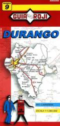Durango, Mexico, State Map by Guia Roji
