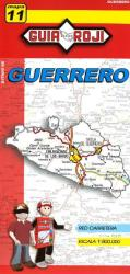 Guerrero, Mexico, State Map by Guia Roji