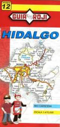 Hidalgo, Mexico, State Map by Guia Roji
