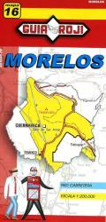 Morelos, Mexico, State Map by Guia Roji
