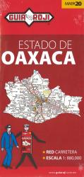 Oaxaca, Mexico, State Map by Guia Roji