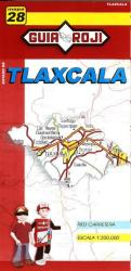 Tlaxcala, Mexico, State Map by Guia Roji