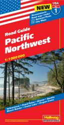USA 1: Pacific Northwest by Hallwag