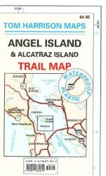 Angel Island and Alcatraz, California by Tom Harrison Maps