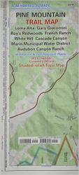 Pine Mountain, California Trail Map by Tom Harrison Maps