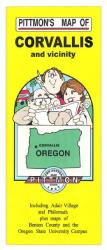 Corvallis and Benton County, Oregon by Pittmon Map Company