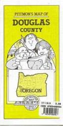 Douglas County, Oregon by Pittmon Map Company