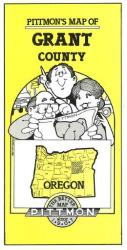 Grant County, Oregon by Pittmon Map Company