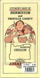 Hermiston and Umatilla County, Oregon by Pittmon Map Company