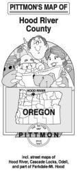 Hood River County, Oregon by Pittmon Map Company